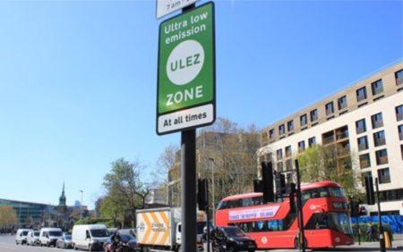 LEZ, ULEZ, strefa LEZ w Londynie, strefa ULEZ w Londynie